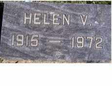 ELLIS, HELEN V. - Adams County, Ohio | HELEN V. ELLIS - Ohio Gravestone Photos