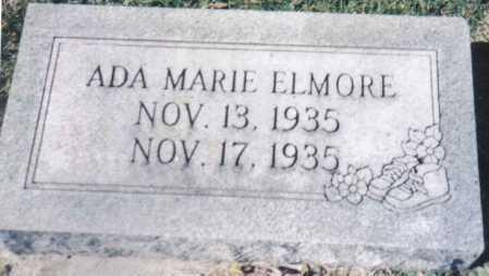 ELMORE, ADA MARIE - Adams County, Ohio | ADA MARIE ELMORE - Ohio Gravestone Photos