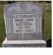 EUBANKS, DELCENA - Adams County, Ohio   DELCENA EUBANKS - Ohio Gravestone Photos