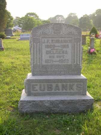 EUBANKS, JOHN FRANCIS - Adams County, Ohio   JOHN FRANCIS EUBANKS - Ohio Gravestone Photos