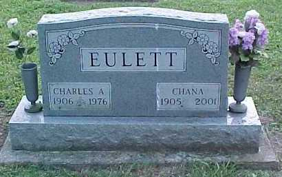 EULETT, CHANA - Adams County, Ohio | CHANA EULETT - Ohio Gravestone Photos