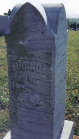 COKONAUGHER EVANS, LUCINDA - Adams County, Ohio | LUCINDA COKONAUGHER EVANS - Ohio Gravestone Photos