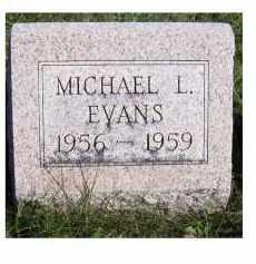 EVANS, MICHAEL L. - Adams County, Ohio | MICHAEL L. EVANS - Ohio Gravestone Photos