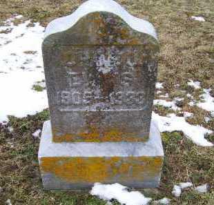 EVANS, OREBO - Adams County, Ohio | OREBO EVANS - Ohio Gravestone Photos