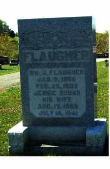 FLAUGHER, JENNIE - Adams County, Ohio | JENNIE FLAUGHER - Ohio Gravestone Photos