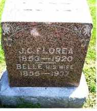 FLOREA, BELLE - Adams County, Ohio | BELLE FLOREA - Ohio Gravestone Photos