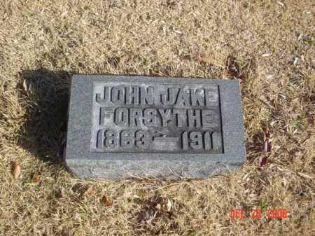 FORSYTHE, JOHN JAKE - Adams County, Ohio | JOHN JAKE FORSYTHE - Ohio Gravestone Photos