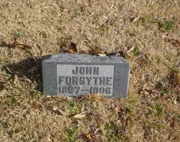 FORSYTHE, JOHN - Adams County, Ohio | JOHN FORSYTHE - Ohio Gravestone Photos