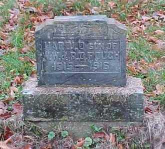 FOUCH, HAROLD - Adams County, Ohio | HAROLD FOUCH - Ohio Gravestone Photos