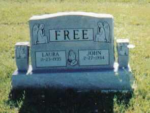 FREE, LAURA - Adams County, Ohio | LAURA FREE - Ohio Gravestone Photos