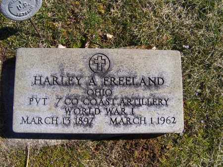 FREELAND, HARLEY A. - Adams County, Ohio   HARLEY A. FREELAND - Ohio Gravestone Photos