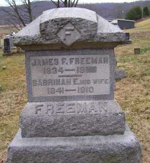 FREEMAN, SABRINAH E. - Adams County, Ohio | SABRINAH E. FREEMAN - Ohio Gravestone Photos