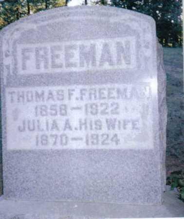 WINDLE FREEMAN, JULIA - Adams County, Ohio | JULIA WINDLE FREEMAN - Ohio Gravestone Photos
