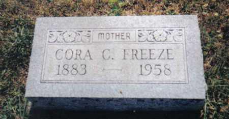 FREEZE, CORA C. - Adams County, Ohio | CORA C. FREEZE - Ohio Gravestone Photos