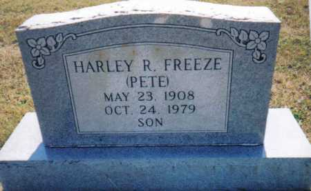 FREEZE, HARLEY R. - Adams County, Ohio | HARLEY R. FREEZE - Ohio Gravestone Photos