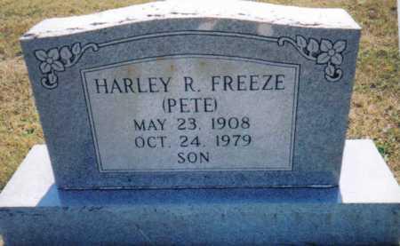 FREEZE, HARLEY R. - Adams County, Ohio   HARLEY R. FREEZE - Ohio Gravestone Photos