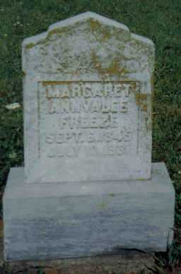 COKONAUGHER FREEZE, MARGARET ANNVALEE - Adams County, Ohio   MARGARET ANNVALEE COKONAUGHER FREEZE - Ohio Gravestone Photos