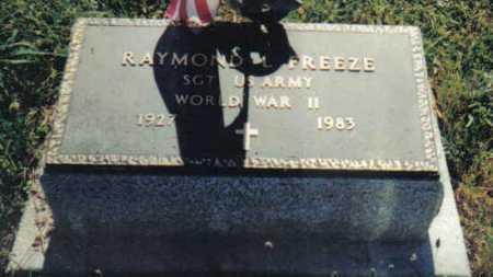 FREEZE, RAYMOND L. - Adams County, Ohio | RAYMOND L. FREEZE - Ohio Gravestone Photos