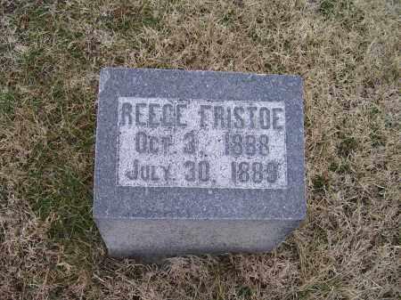 FRISTOE, REECE - Adams County, Ohio | REECE FRISTOE - Ohio Gravestone Photos