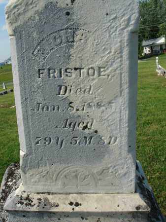 FRISTOE, RICHARD - Adams County, Ohio | RICHARD FRISTOE - Ohio Gravestone Photos