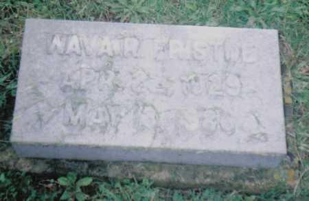 FRISTOE, WAVAR - Adams County, Ohio | WAVAR FRISTOE - Ohio Gravestone Photos