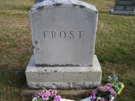 FROST, ALLEN - Adams County, Ohio | ALLEN FROST - Ohio Gravestone Photos