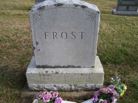 FROST, ALLEN - Adams County, Ohio | ALLEN FROST - Ohio Gravestone Photos