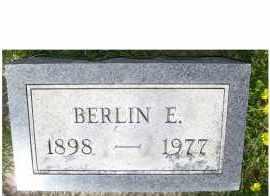 FROST, BERLIN E. - Adams County, Ohio | BERLIN E. FROST - Ohio Gravestone Photos