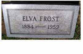 FROST, ELVA - Adams County, Ohio | ELVA FROST - Ohio Gravestone Photos