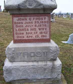 FROST, LOUISA - Adams County, Ohio | LOUISA FROST - Ohio Gravestone Photos