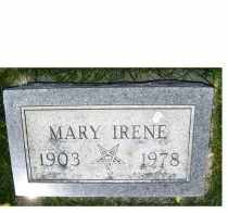 FROST, MARY IRENE - Adams County, Ohio | MARY IRENE FROST - Ohio Gravestone Photos