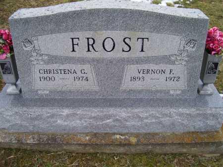 FROST, VERNON F. - Adams County, Ohio | VERNON F. FROST - Ohio Gravestone Photos