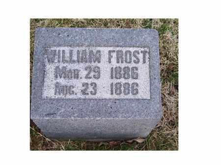FROST, WILLIAM - Adams County, Ohio | WILLIAM FROST - Ohio Gravestone Photos