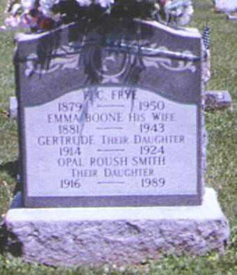 FRYE, F. CAMDON - Adams County, Ohio | F. CAMDON FRYE - Ohio Gravestone Photos