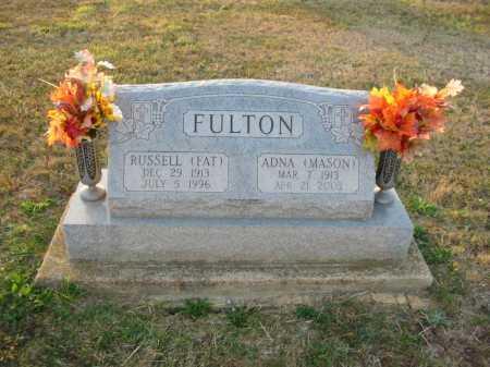 FULTON, RUSSELL - Adams County, Ohio | RUSSELL FULTON - Ohio Gravestone Photos