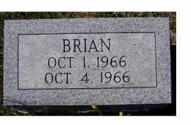 GAFFIN, BRIAN - Adams County, Ohio | BRIAN GAFFIN - Ohio Gravestone Photos