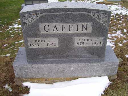 GAFFIN, LAURA J. - Adams County, Ohio | LAURA J. GAFFIN - Ohio Gravestone Photos