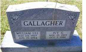 GALLAGHER, IVY G. - Adams County, Ohio | IVY G. GALLAGHER - Ohio Gravestone Photos