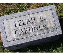 GARDNER, LELAH B. - Adams County, Ohio   LELAH B. GARDNER - Ohio Gravestone Photos