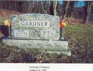GARDNER, MAURICE - Adams County, Ohio | MAURICE GARDNER - Ohio Gravestone Photos