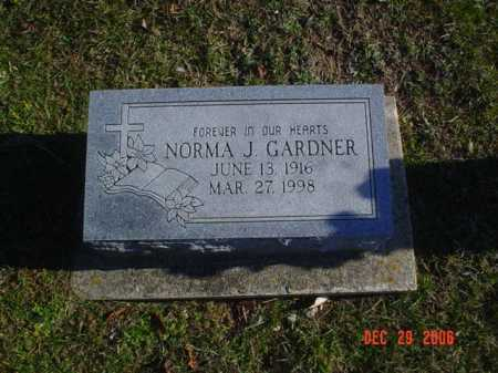 GARDNER, NORMA J. - Adams County, Ohio | NORMA J. GARDNER - Ohio Gravestone Photos
