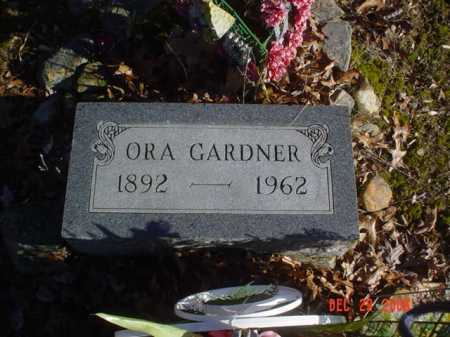 GARDNER, ORA - Adams County, Ohio | ORA GARDNER - Ohio Gravestone Photos