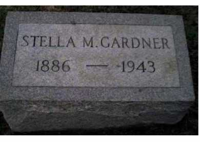 GARDNER, STELLA M. - Adams County, Ohio | STELLA M. GARDNER - Ohio Gravestone Photos