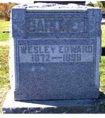 GARDNER, WESLEY EDWARD - Adams County, Ohio | WESLEY EDWARD GARDNER - Ohio Gravestone Photos