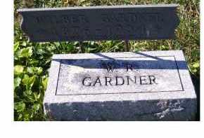 GARDNER, WILBUR R. - Adams County, Ohio | WILBUR R. GARDNER - Ohio Gravestone Photos