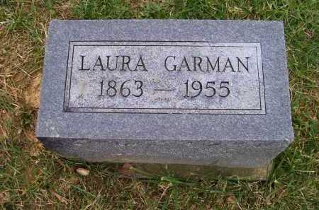 GARMAN, LAURA - Adams County, Ohio   LAURA GARMAN - Ohio Gravestone Photos