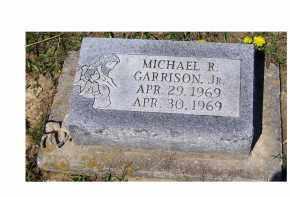 GARRISON, MICHAEL R. JR. - Adams County, Ohio | MICHAEL R. JR. GARRISON - Ohio Gravestone Photos
