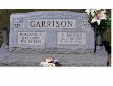 GARRISON, R. MAXINE - Adams County, Ohio | R. MAXINE GARRISON - Ohio Gravestone Photos