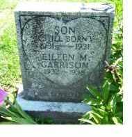 GARRISON, EILEEN M. - Adams County, Ohio | EILEEN M. GARRISON - Ohio Gravestone Photos