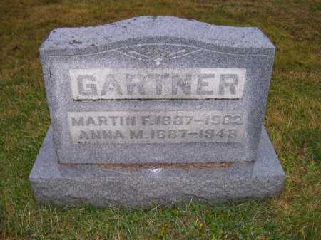 GARTNER, ANNA M. - Adams County, Ohio | ANNA M. GARTNER - Ohio Gravestone Photos